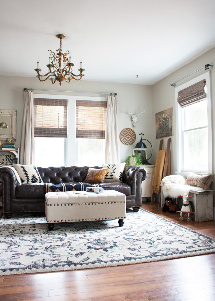 eclectic-boho-living-room-makeover