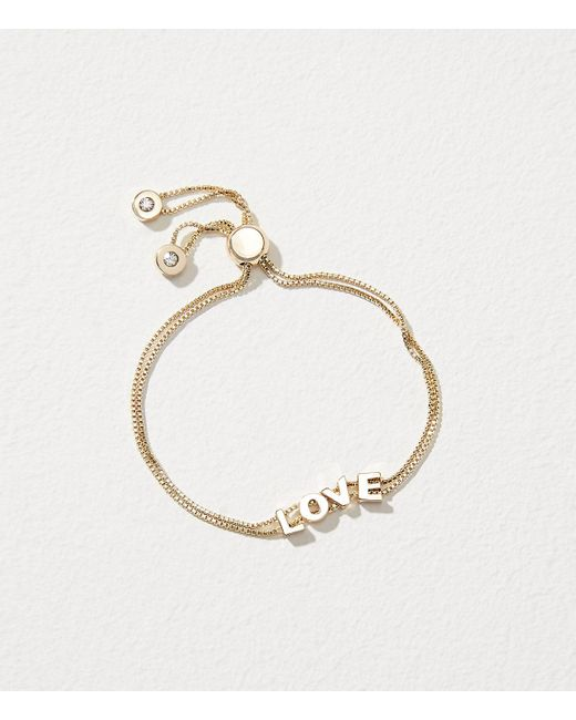 loft-Gold-Love-Slider-Bracelet